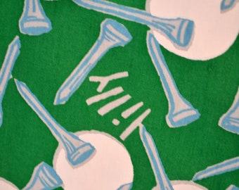 Keywest Fabric Zuzek Par Tee M Dee Poo Hand Printed Fabric for Lily Pulitzer 60 x 44