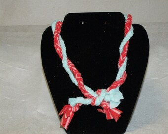 Braided T-shirt Necklace Twilsted