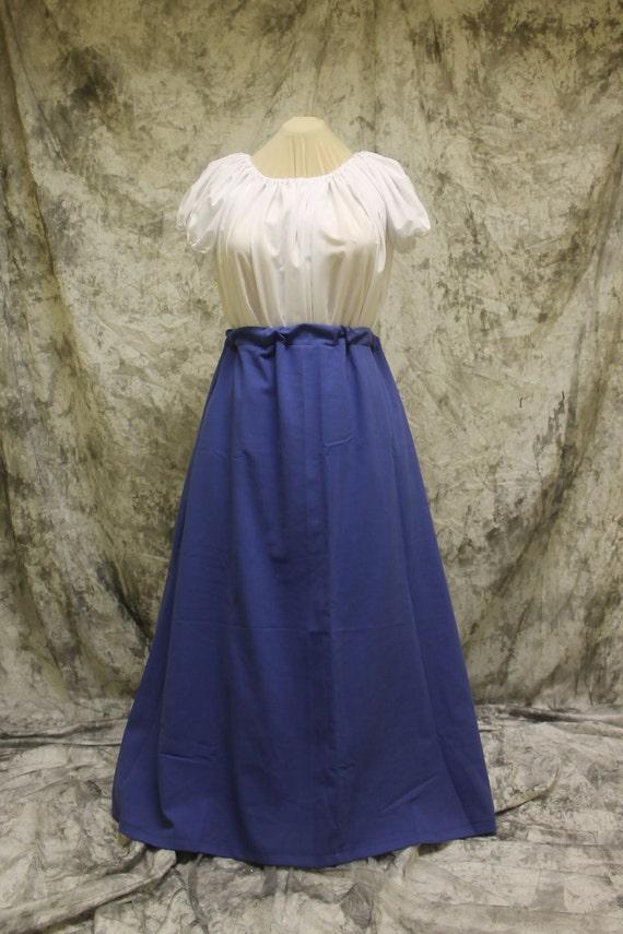 Blue Renaissance Costume-Halloween Costume-Medieval