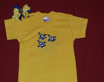 Blue Angels T-Shirts and Bows