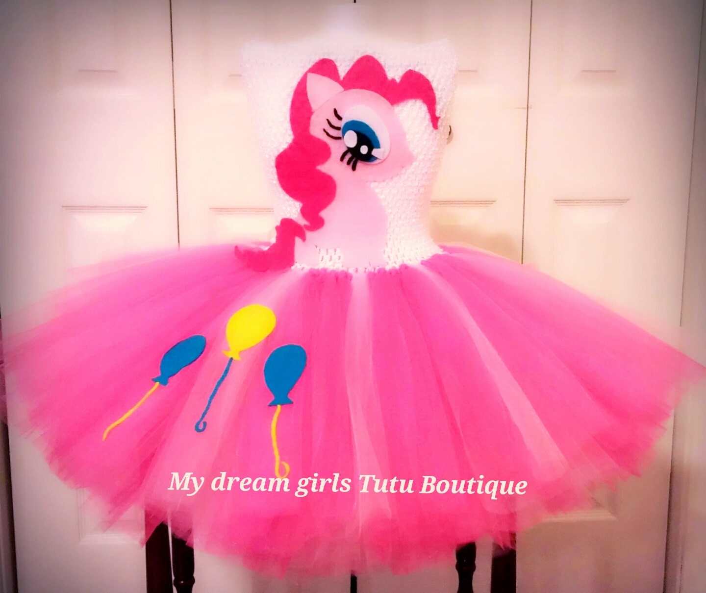 Pinkie Pie My little Pony tutu dress MLP birthday dress