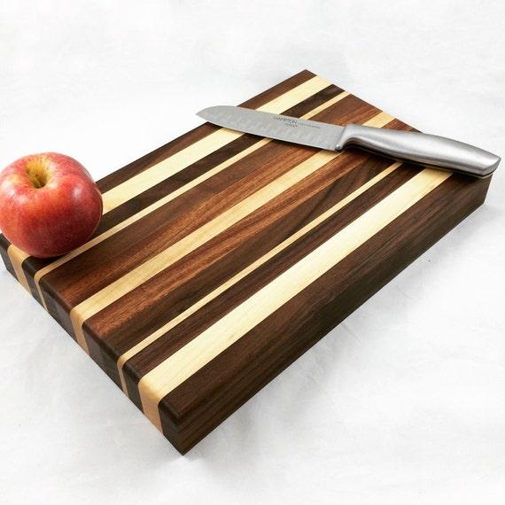 Tabla para cortar madera carnicero bloque arce nogal y