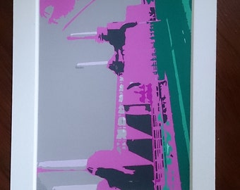 Battersea Power Station digital print