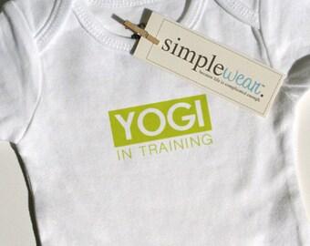 yogi in training baby bodysuit/t-shirt