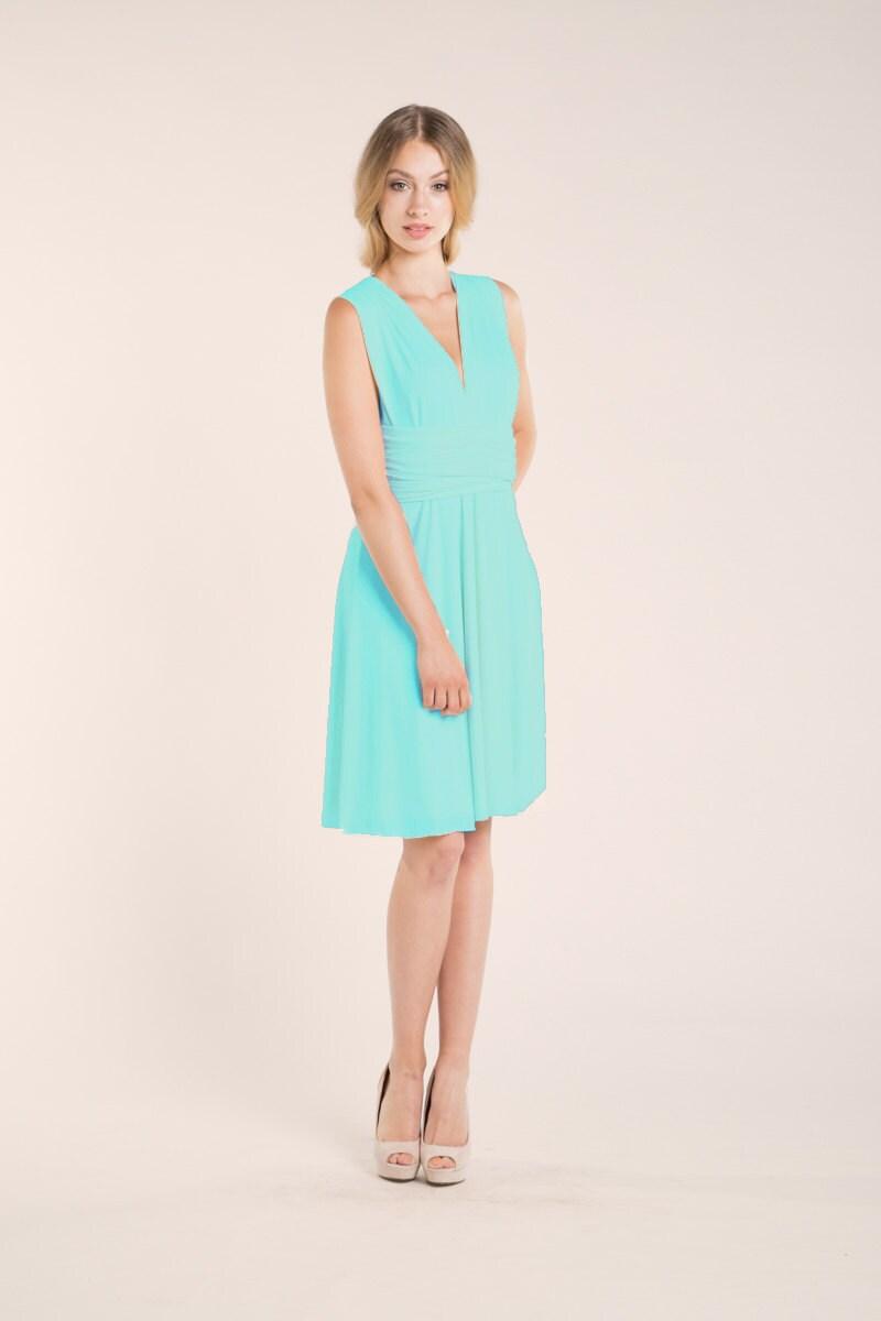 Aquamarine dress light blue short dress light turquoise zoom ombrellifo Image collections