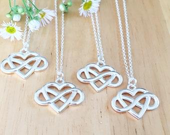 4 Friends, Distance Gifts Friendship,No Matter Where Distance Jewelry Friendship Distance Gifts BFF Best Friend Distance Necklaces Gift Item