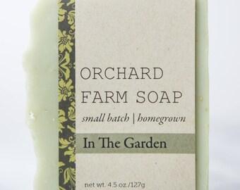 In The Garden Bar//Gardener's Scrub Soap// // Farmer Approved//