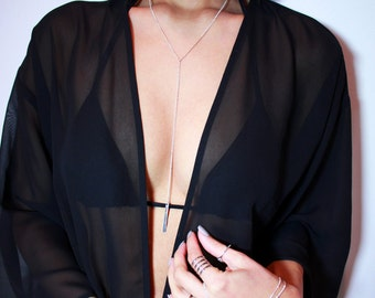 Natalie Necklace - Silver Plated