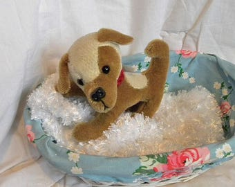 Mohair Dog - Artist Bear by Pud Bears - OOAK Toy Puppy