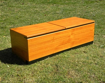 Vintage Danish Teak Storage /Blanket Chest Trunk / Credenza