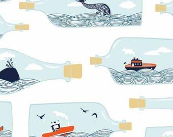 Hook, Line and Sinker Cotton Woven by Dear Stella