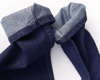 Vintage Wrangler Junior Fit Jeans Size 13 28w X 29l Dark Wash 1970s - 80's?