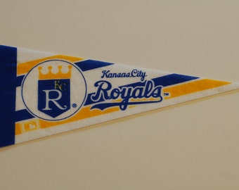 Kansas City Royals Vintage Pennant