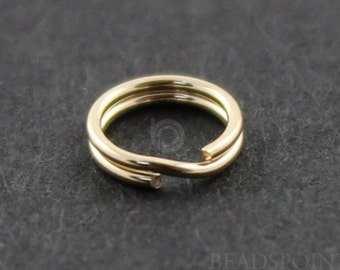 Gold Filled  4.5 mm Split Ring, 1 Pack of 50 Pieces, (GF/363/4.5)