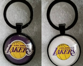 Lakers pendant keychain