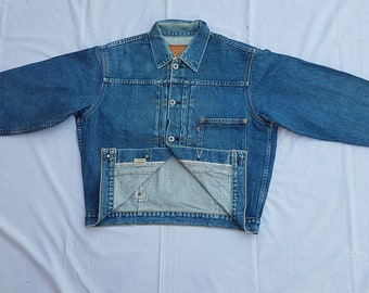 Vintage Levis Jeans / Denim Selvedge Jacket 71508