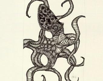 Small Octopus Giclée Print