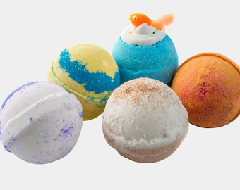 Fish 5 Bath bomb Bubble Bath Fizzies Collection