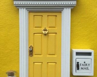 Fairy Door, Mailbox & Pixie Dust - Glitter 'Lemon YELLOW'
