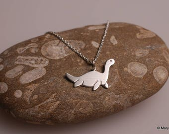 Little Nessie Necklace Sterling Silver