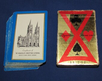 IMMACULATE CONCEPTION CATHEDRAL Playing Cards Denver Colorado Remembrance Bridge Cards