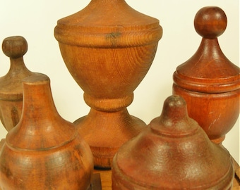 Vintage Mid Century Mini Finial Collection