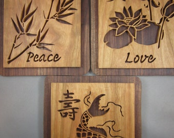 Japanese Love, Peace and Longevity