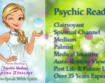 Psychic Phone Reading 30 min.
