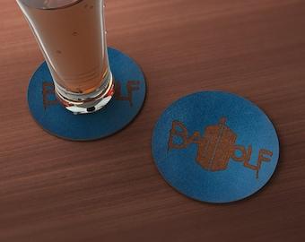 Doctor Who Bad Wolf Geek Drink Coaster