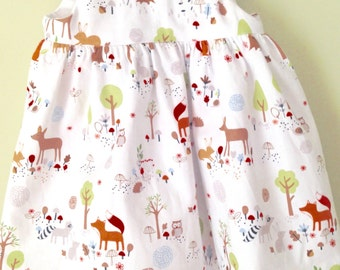 Baby girl dress - Gentle Forest
