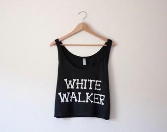 Réservoir de culture blanc Walker par si Effing mignon - inspirée de Game of Thrones