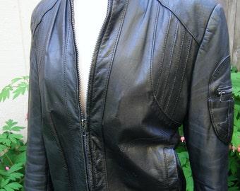 vintage LEATHER TUSCADERO jacket