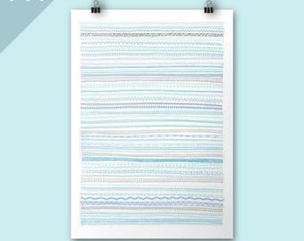 SALE / LAST PRINT!!! Pattern / A4 print / Art print / Illustration / Contemporary art