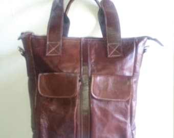 Donita Leather Tote