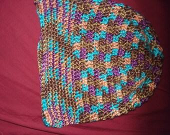 Slouch crochet hat