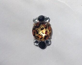Leopard Love Swarovski Crystal Bindi
