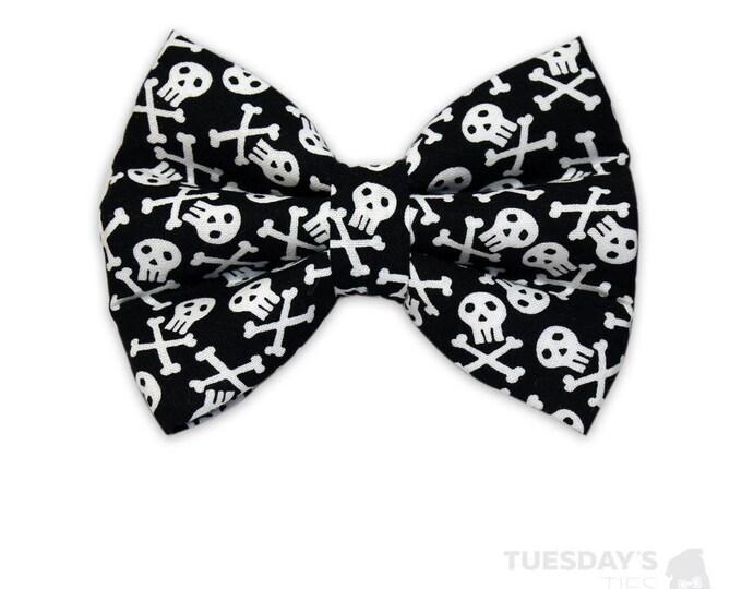 Skull & Crossbones Bow Tie