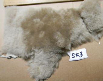 Sheepskin remnant SK3 tan color