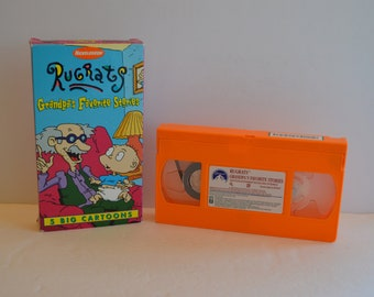 1997 NICKELODEON Rugrats Grandpa's Favorite Stories VHS