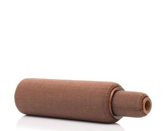 "2-Piece Lanna Roller Massage Foam Roller Set - ""Classic Nesting Set"" with Ebony Cover"