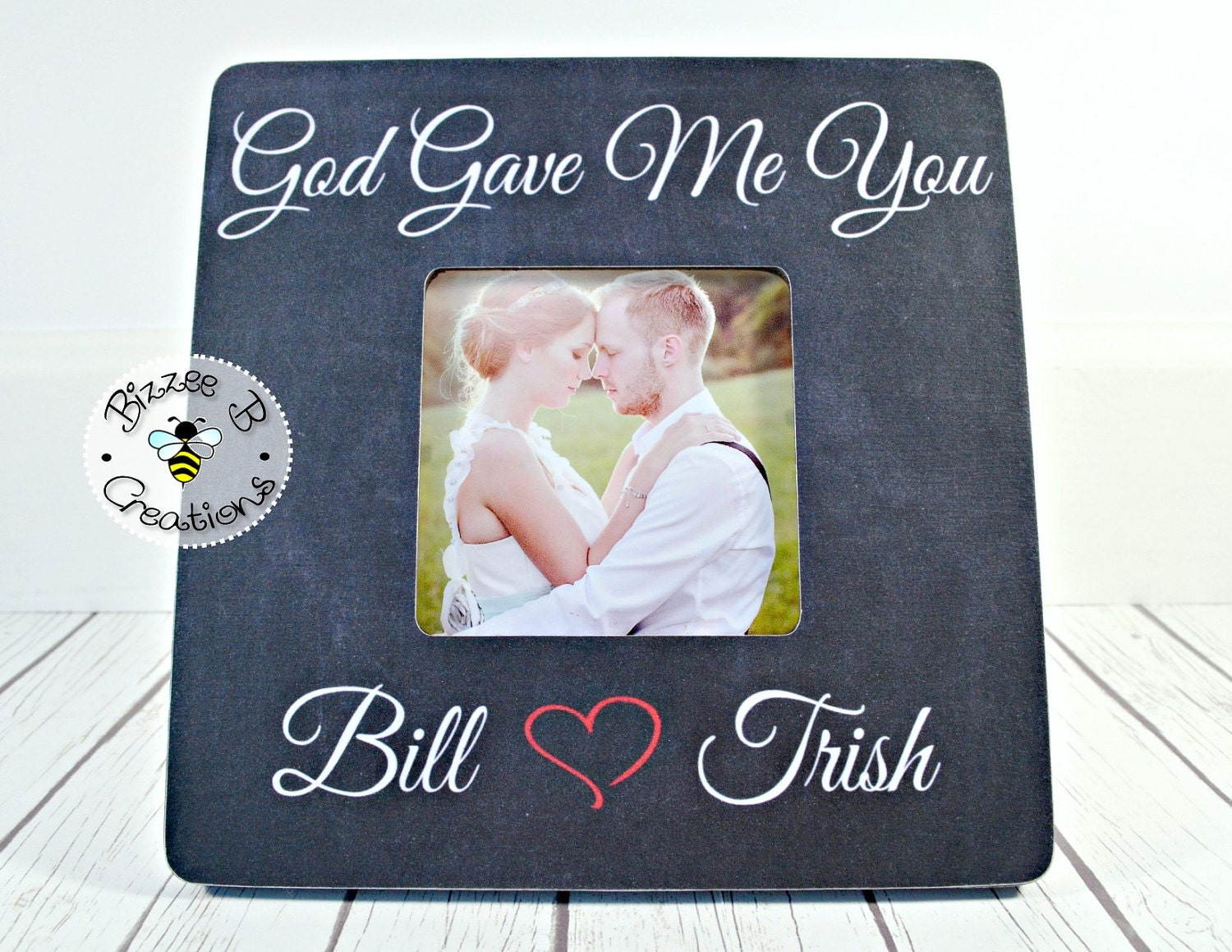 Me To You Wedding Gifts: ON SALE First Dance Wedding Song Picture Frame God Gave Me