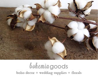 Cotton branch, cotton bolls, fake cotton, faux cotton, natural cotton stems, cotton boll wreath, natural cotton bolls, faux cotton bolls,