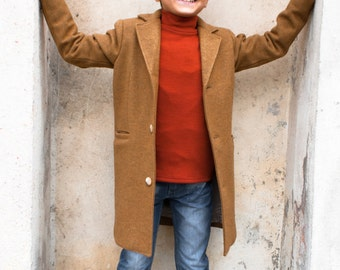Winter coat, Boys wool coat, Vintage coat, Warm long coat, Trendy coat, Toddler boy coat, Kids coat, Down coat, Pea coat, Long boys coats