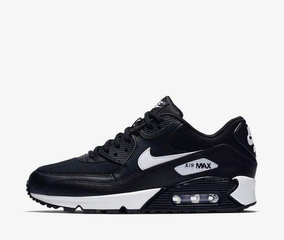 90 customized Nike Black Air Max White with Crystals SWAROVSKI® wpwgXq