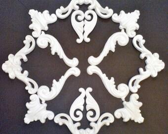 Plaster decoration - ceiling mirror - No. stucco. 12