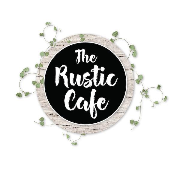 Logo design Rustic Logo Shabby Chic Logo Boho Logo Florist