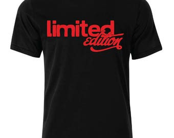Limited edition T-Shirt - available in many sizes and colors