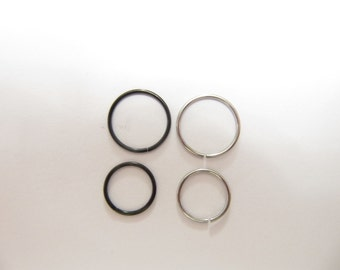 Surgical Steel Nose Ring Hoop Nose Ring Tragus Cartilage ear