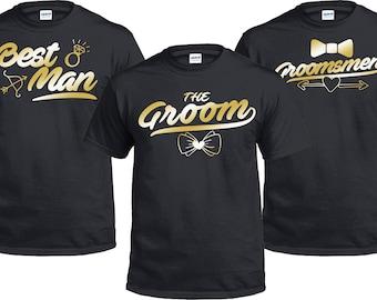 Groom Shirt, Bachelor Party Shirts, Stag Party, Entourage, Groom Gift,  Engagement Gift, Groomsmen Gift, Bestman, Groomsman, Wedding Shirt