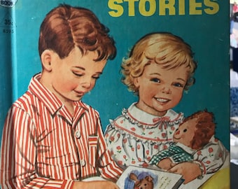 Bedtime Stories Tip Top Elf Book 1955 Rand McNally Book